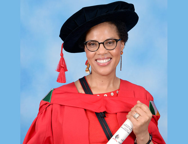 Professor Ncoza Dlova who has been appointed Dean and Head of the School of Clinical Medicine.
