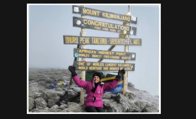 Paediatrics Specialist Climbs Mount Kilimanjaro at Age 65