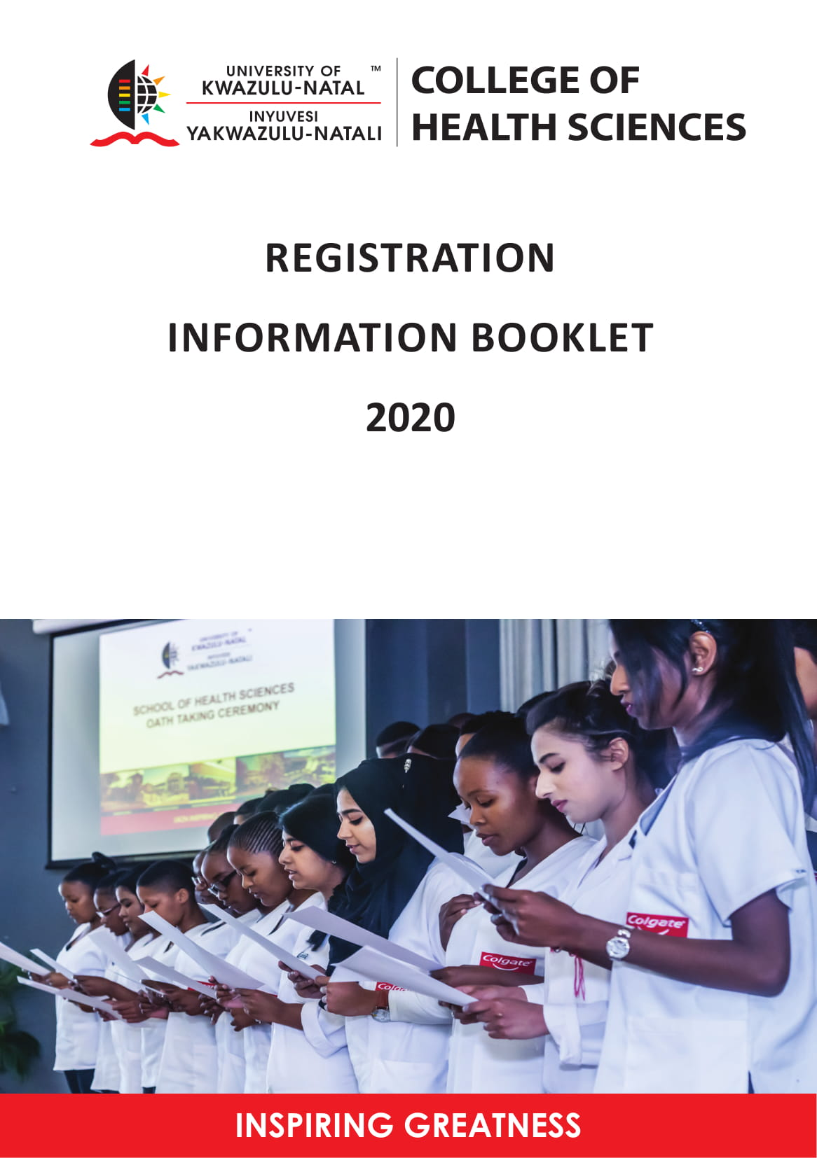 UKZN 2020 Registration Booklet