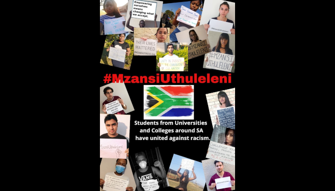 UKZN Students Unite Against Racism